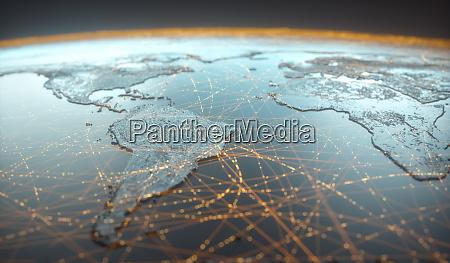 digital technology connectivity world wide web