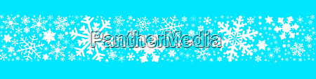 snowflake winter banner