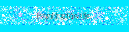 snowflake winter banner 2020