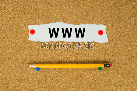 www text note message pin on