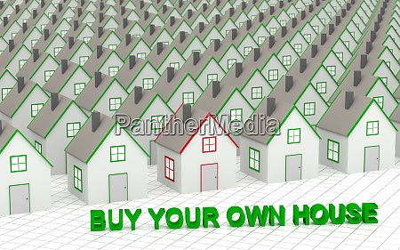 choose and buy your own house
