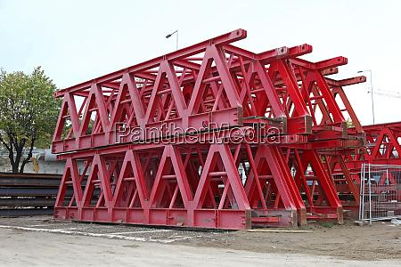 lattice beam support