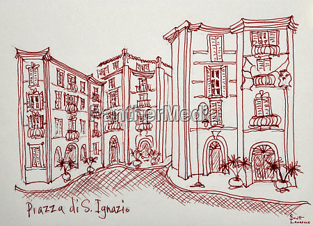 piazza di san ignazio is a