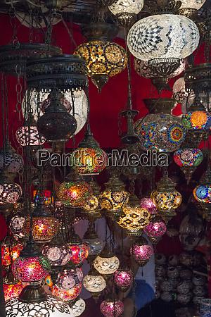 turkey istanbul lighting store featuring mosaic