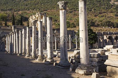 turkey izmir kusadasi ephesus ancient city