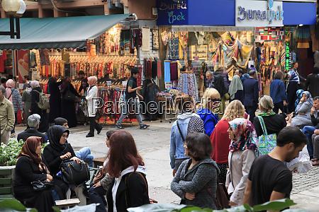turkey marmara bursa bazaar editorial use