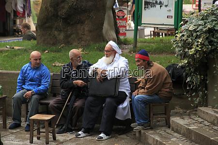 turkey marmara bursa men in group