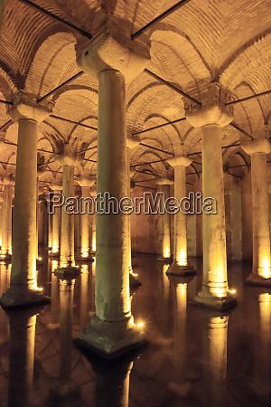 turkey istanbul the 6th century basilica