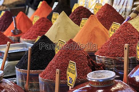 turkey istanbul spice bazaar