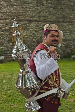 man selling water istanbul turkey mr