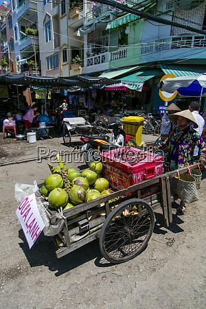 market chau doc vietnam asia