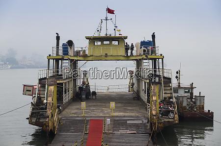 vietnam halong city harbor ferry
