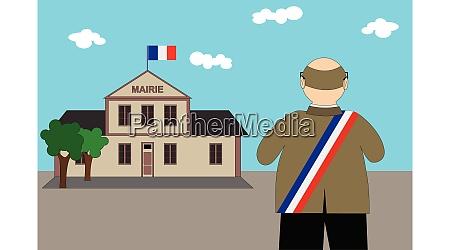 french municipal elections 2020 illustration