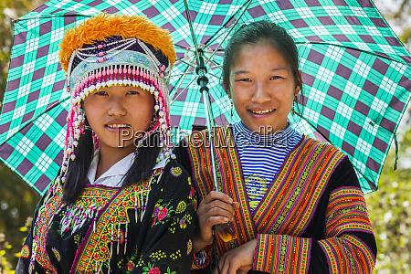 vietnam chan nua young hmong women