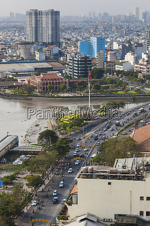 vietnam ho chi minh city elevated