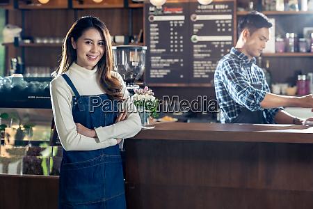 portrait cafe owner sme