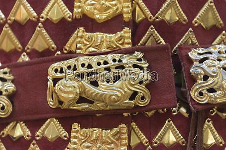 golden warrior symbol of kazakhstans independence