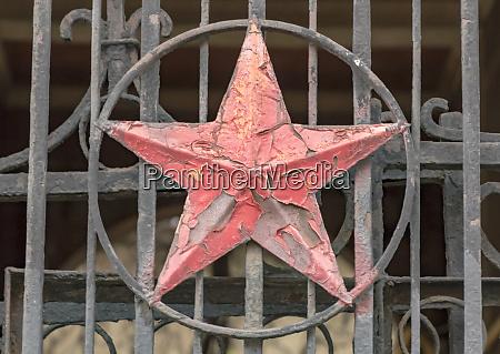 soviet star symbol odessa ukraine