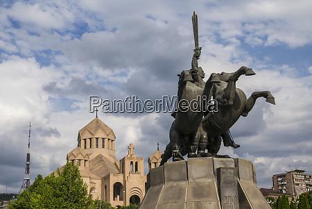 armenia yerevan surp grigor lusavorich cathedral