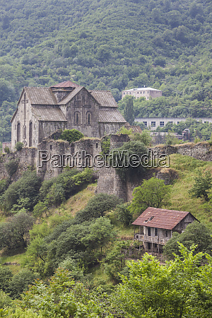 armenia debed canyon akhtala akhtala church