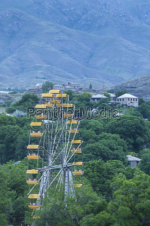 armenia yeghegnadzor amusement park ferris wheel