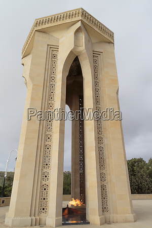 azerbaijan baku the eternal flame memorial
