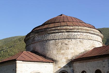 azerbaijan sheki the dome of a