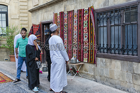 selling carpets in the old city