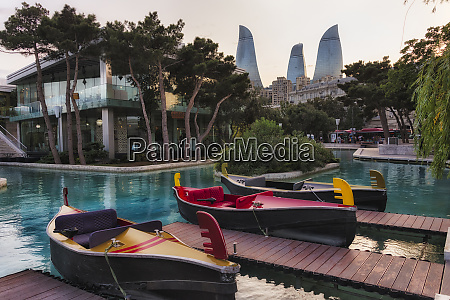 little, venice, water, park, , flame, towers - 27687611