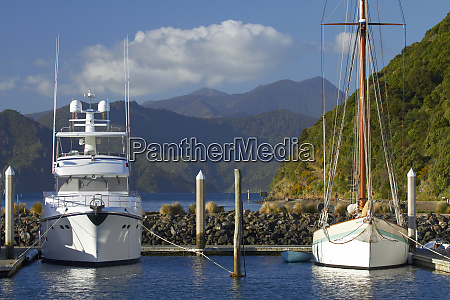 luxury boats marina picton marlborough sounds