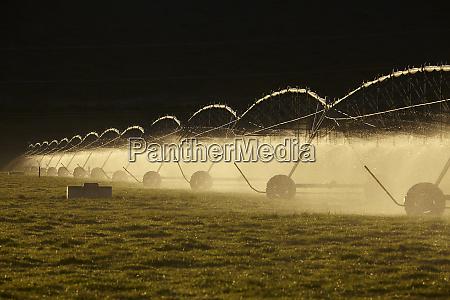 centre pivot irrigation near twizel mackenzie