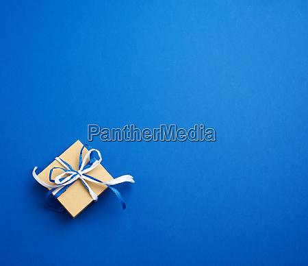 brown cardboard gift square box bows