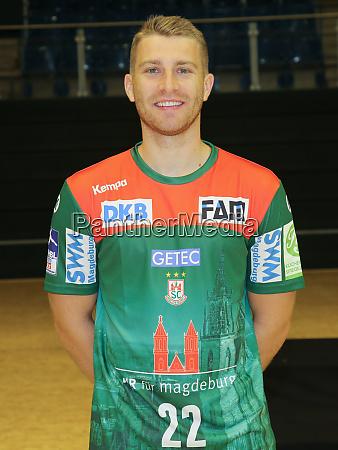 german handball player lukas mertens sc