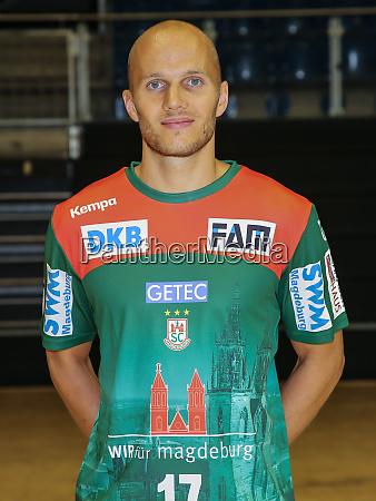 german handball player tim hornke sc