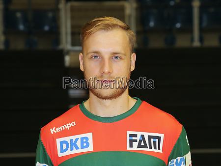 swedish handball player daniel petersson sc