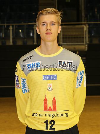 swedish handball goalkeeper tobias thulin sc