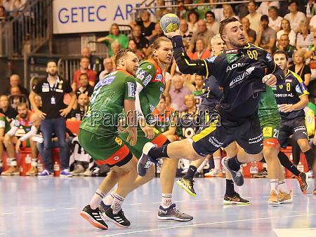 german handball player jannik kohlbacher rhein