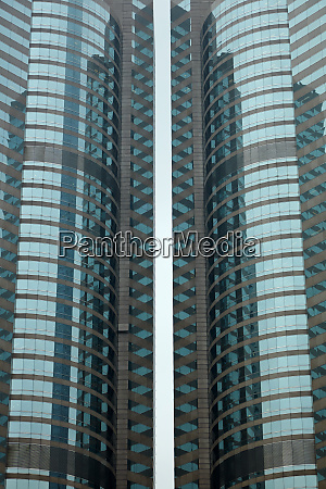 towers of exchange square housing the