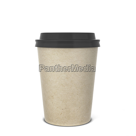 blank paper coffee cup mock up