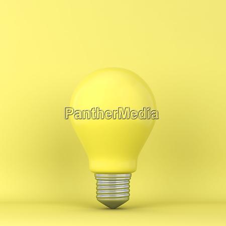 single lightbulb