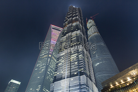 china shanghai low angle view of