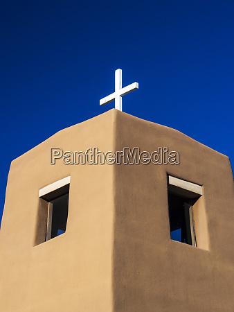 usa new mexico exterior facade of