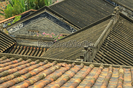 rooftop view nanfeng kiln oldest in