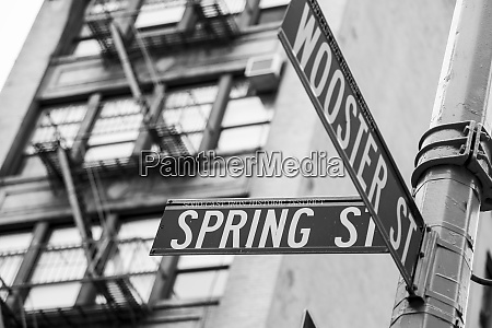 new york city ny usa soho