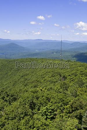 overlook mountain in the catskills woodstock