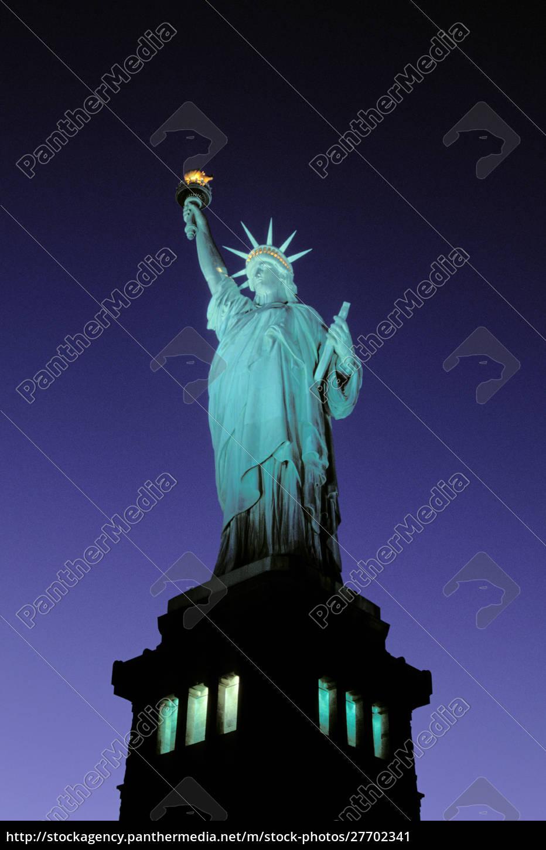 statue, of, liberty, , new, york, , usa. - 27702341