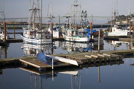 or oregon coast newport commercial fishing