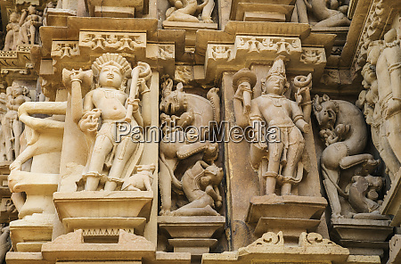erotic sculptures of khajuraho madhya pradesh