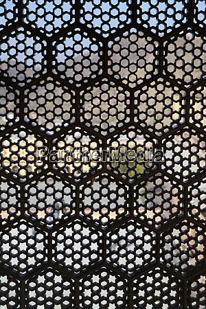 asia india lattice window screen at