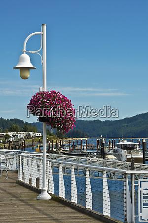 boardwalk and superbells docks siuslaw river